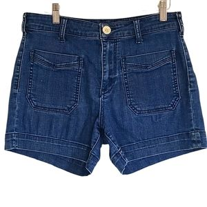 Anthropologie Pilcro Midrise Jean Shorts